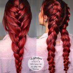 Cute Hair Colors, Hair Dye Colors, Cool Hair Color, Red Hair Inspo, Wine Hair, Burgundy Hair, Brown Hair, Hair Color And Cut, Coloured Hair