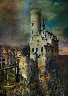 Lichtenstein Castle,Württemberg, Germany