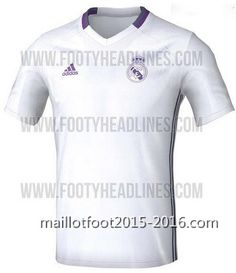 Nouveau maillot formation Real Madrid 2016-2017 53db638a187da