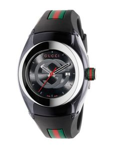 Gucci - Sync Stainless Steel Rubber Watch