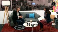 MIguel Lampel, del emprendimiento cafetero 7 Monos, en el Observador TV (Montevideo, Uruguay)