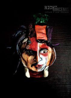 Johnny Depp 6 characters (Cupcake) - Cake by Richi Barcenas Cupcake Art, Cupcake Cakes, Cupcakes, Johnny Depp Characters, Fictional Characters, Extreme Cakes, Edward Scissorhands, Willy Wonka, Jack Sparrow