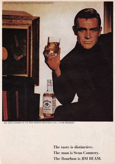 Sean Connery for Jim Beam, 1966