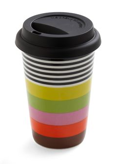 I think I'm gonna transform my plain green cup to something a little more colorful like this one.