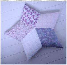 Via Aamu Omenatarhassa Diy Pillows, Cushions, Throw Pillows, Couture, Dressmaking, Handicraft, Christmas Stockings, Diy And Crafts, Eye Candy