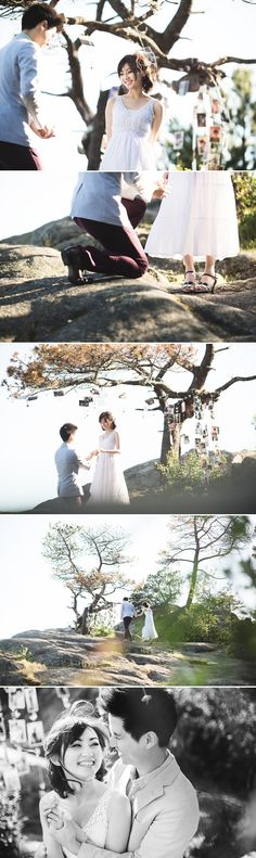 One Thousand Memories of Love - rustic engagement session by Kunioo