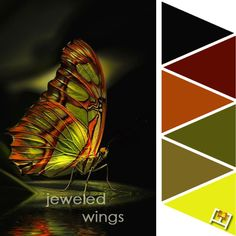 Jeweled Wings Color Palette