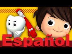 Así es como se lavan los dientes | LittleBabyBum canciones infantiles HD 3D - YouTube