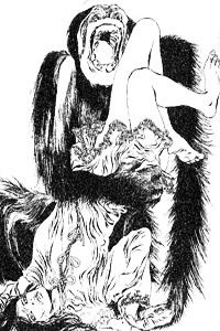 The Murders in the Rue Morgue - Auguste Dupin - by Guido Crepax. Edgar Allan Poe's Tale