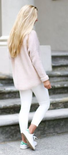 Light Pink And White Styling                                                                             Source