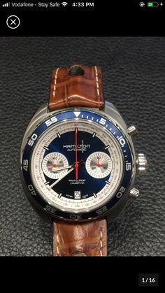 Hamilton Watch Company, Watch Companies, Breitling, Omega Watch, Watches, Accessories, Clocks, Clock