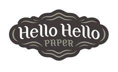 Hello Hello Paper logo by Super Furry, via Flickr