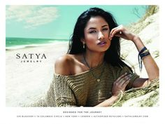 Varsha Thapa for Satya Jewelry F/W 2013
