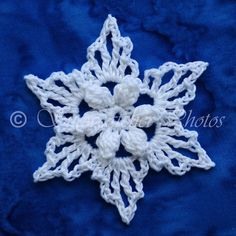 Here's hoping you had a wonderful Christmas break. I spent part of mine trying to get ahead on snowflake patterns so I won't fall behind whe. Snowflake Photos, Snowflake Ornaments, Christmas Snowflakes, Christmas Crafts, Christmas Stuff, Xmas, How To Make Snowflakes, Crochet Snowflakes, Snowflake Pattern