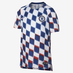 Nike Chelsea Fc Dri-Fit Squad Big Kids' Soccer Top - M (10-12)