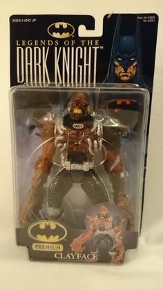 RARE Clayface Action figure - Legends of the Dark Knight Batman 1998 MOC Kenner in Comic Book Heroes | eBay