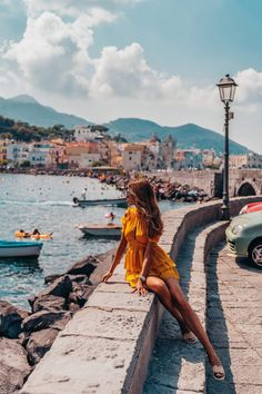 A Day in #Ischia | #VivaLuxury. Ischia captured our hearts the moment we got there. One of the most beautiful, romantic, friendliest and loveliest #places in Italy we have ever been to, though we've only got to spend a day there, it made quite an impression. Freundlich, Outfits, Summer, Nice Asses, Outfit, Suits, Kleding, Dresses, Clothes