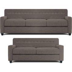 Sofas for Sale Online, Sofa Set Online Shopping @ Best Price Cheap Sofa Sets, Grey Sofa Set, Modern Decor, Modern Design, Sitting Cushion, Sofa Set Online, Sofa Set Designs, 2 Set, Fabric Sofa