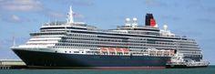 CRUISIN - Cunard Cruise Line - Queen Victoria - Bridge Camera