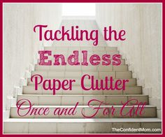 """Chapter Thirteen  A few key sentences that got my attention: """"Categorizing helps to create order in your mind and your home."""" """"Daily habits make a huge impact on managing clutter. Without routine, you'll always end up with overwhelming piles."""" """"Eliminate little pieces of paper! Let this be your organizing theme."""" I love being able to categorize my paper – pending, action & review, everyday reference, long-term reference, and vital records. I think this over view of how to look at the…"""