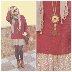 Burgundy outfit by Cuca Boutique
