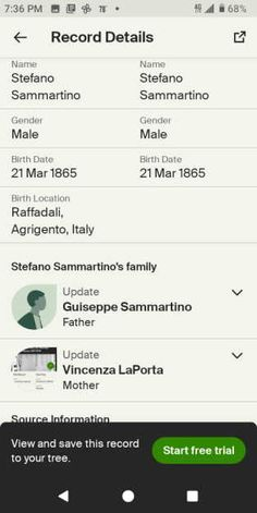Android Photo Free Genealogy Search, Male Male, Ancestry, Android, Names
