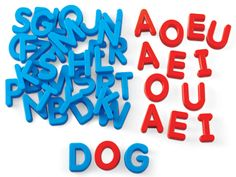 Word Building Magnetic Letters - Uppercase at Lakeshore Learning