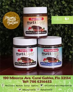 #NUtilight #Chocolate #Hazelnut #Sugarfree #Nutella #recipe #Yummy #Spread #HealthyFood #Salmon #WellnessChoiceMarketCG #Sanatos #VenezolanosEnMiami #NonGMO #NonGMOProject #SuperFoods #EatLocal #Dieta #Diet #Healthy #HealthyChoice #Wellness #Cancer #Organic #OrganicFood #JuiceBar #Paleo #EatClean #RealFood #Followers #HealthyFood #OrganicFoodStore #Store #IonicDetox #CoralGables #Omega3 #GlutenFree #DairyFree #Miami #Florida