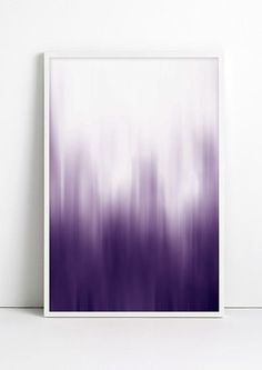"""Adding color to a room just go a whole lot simpler! This ombre print is an easy way to add color eye-catching color. Dimensions: Measures 13"""" x 19"""". Details: Matte archival paper. Fybur is a multi-dim"""