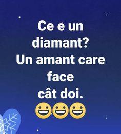 Ce este un diamant - Viral Pe Internet Deep Memes, Good Jokes, Cringe, Funny Texts, The Funny, Haha, Have Fun, Humor, Facebook