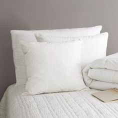 Natural Down Pillow #West Elm
