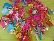 Remember Plastic Charm Bracelets? Circa 1986.