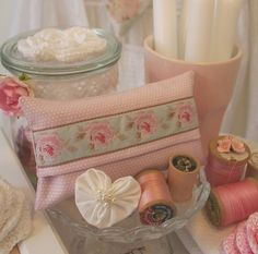 My new TILDA Tissue Pouch Collection & Blog Giveaway