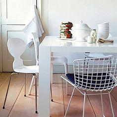 juego de mesa y sillas para comedor bertoia buscar con google