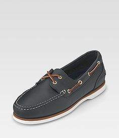 Timberland's Blue Boat Shoe