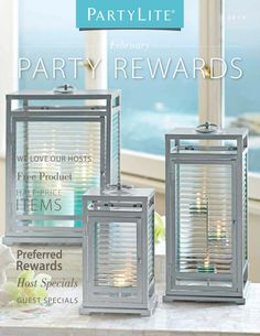 Get the complete Resort Lantern Collection when you host a February Party! Ask me how!