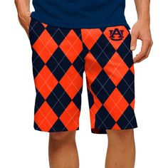 Men's Loudmouth Navy Auburn Tigers Shorts