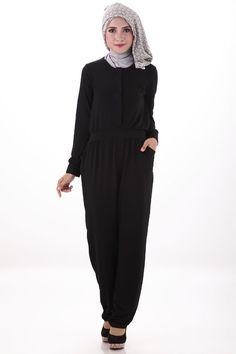 black Agatha Jumpsuit | Dress Muslim wanita Online | GrosirBajuMuslim.id | Covering Story | Produsen Grosir Baju Muslim Online | Terima Dropship dan Reseller | 087878606010 | BB 25eab740#hijab#hijabdress#hijabfashion#hijabStore#HijabIndonesia#HijabOlshop#hijaberscommunity#selebgram#hijabi#hijabee#hijabers#hijabstyle#hijabfashion#hijabshop#syari#islamicfashion Rp 199,000