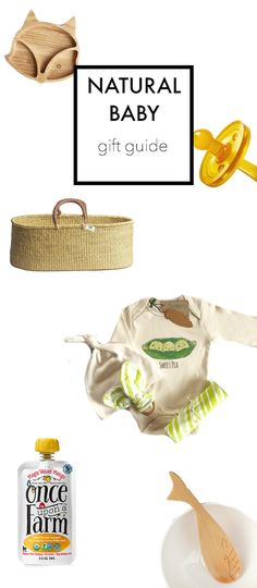 Natural Baby Gift Guide