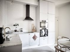 Bright Scandinavian kitchen