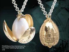 the golden egg pendant - huevo de oro cadena noble collection harry potter
