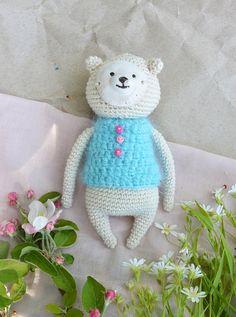 "Amigurumi Style Teddy Bear ""Umka"" (knitted toy)"