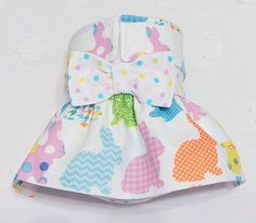 Female Dog Diaper Skirt  Perfect for your dog in Season and House Training Check, Chevron, Dots Bunnies by piddleronthewoof on Etsy