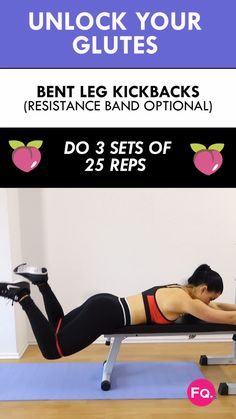 Try this epic butt workout at home. You can add a resistance to challenge your glutes even more. Try this epic butt workout at home. You can add a resistance to challenge your glutes even more. Fitness Workouts, Sport Fitness, Fitness Diet, Fitness Motivation, Health Fitness, Health Diet, Glute Workouts, Fun Workouts, Hiit Workouts With Weights