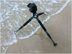 A perfect example how to place the legs of a tripod when it is standing in the wind or in a stream. Leica Camera, Nikon Dslr, Canon Lens, Camera Gear, Film Camera, Canon Cameras, Gopro Photography, Portrait Photography, Wedding Photography