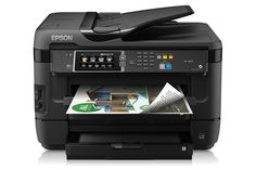 Absolutely amazing printer...We highly recommend #Epson. Great performance, build quality and exceptional print clarity. Epson WorkForce WF-7620 All-in-One Printer .