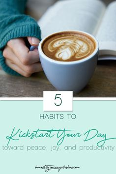 5 Morning Habits for a Better Day - Honestly Rebecca