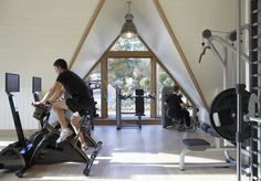 Fitness center, Hotel Lime Wood