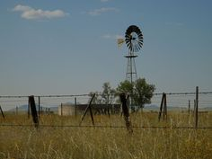 """Windmill on the plains of Sonoita, AZ. This is where the outdoor scenes from the movie, """"Oklahoma"""" were filmed. Tucson Arizona, Windmills, Farms, Oklahoma, Wind Turbine, Places Ive Been, America, Movie, Spaces"""