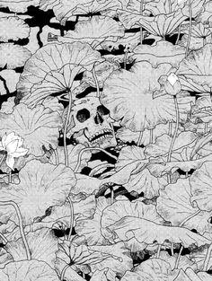 Suehiro Maruo (丸尾 末広). Edited by: monochromized